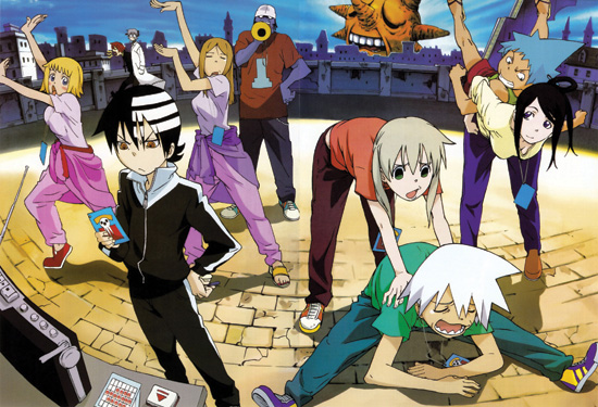 soul eater is home to some of the most thrilling action sequences in