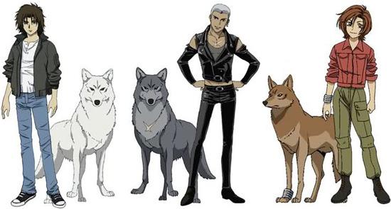 Resultado de imagen para wolf's rain