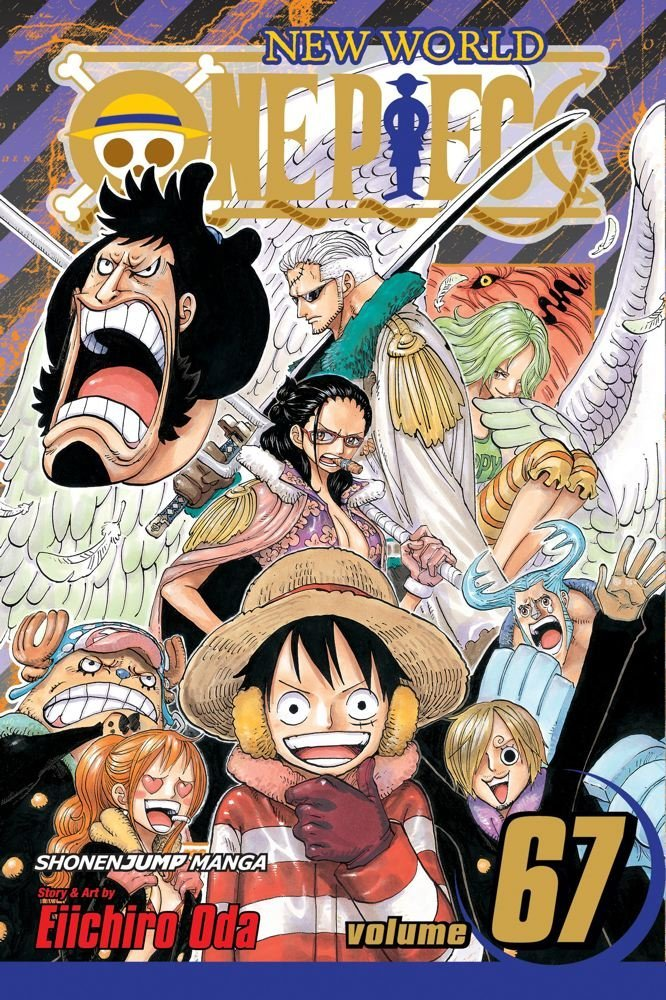 One Piece Manga volume 67 review