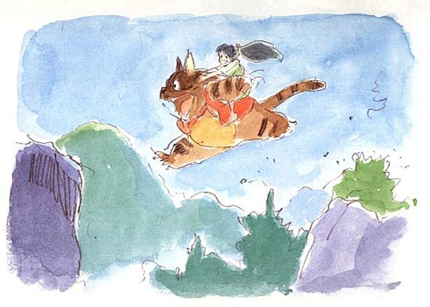 Vizメディアが「もののけ姫」の絵本