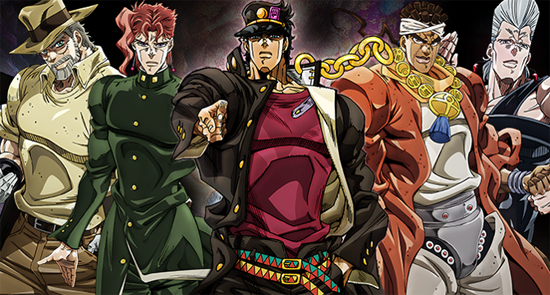 JoJo Anime Running For 1 Year Will Use All Stands