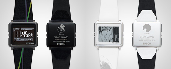 new evangelion watches are smart sort of