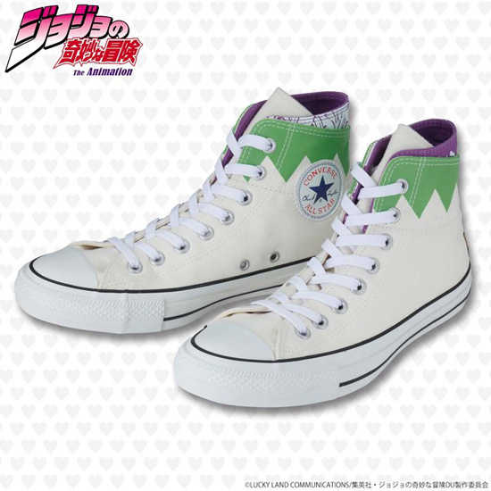 94aa97dc8d60 Japan Gets JoJo s Bizarre Adventure Converse Sneakers
