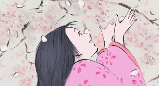 Studio Ghibli's The Tale of Princess Kaguya Anime Film Review