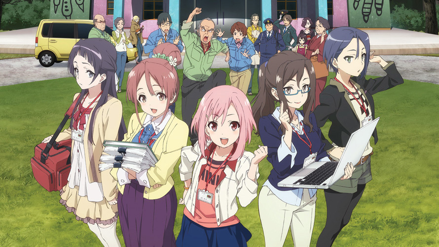 Sakura Quest is a Compelling Experiment in Animated Storytelling