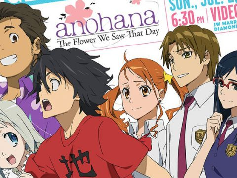 Anohana English Dub to Premiere at Anime Expo