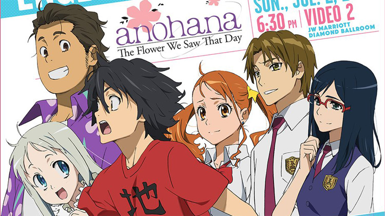 Anohana English Dub to Premiere at Anime Expo