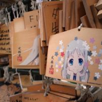 Anohana Fans Keep Chichibu Temple Alive