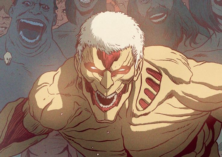 Kodansha Previews Eisner-Winning Artist's Attack on Titan Cover