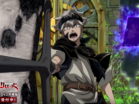Black Clover TV Anime Set for 2017