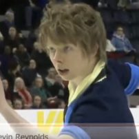 Figure Skater Performs to Cowboy Bebop Theme