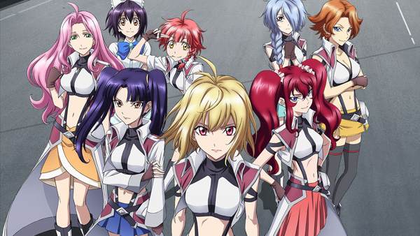 Cross Ange: Rondo of Angels and Dragons is Ridiculously Exceptional Anime