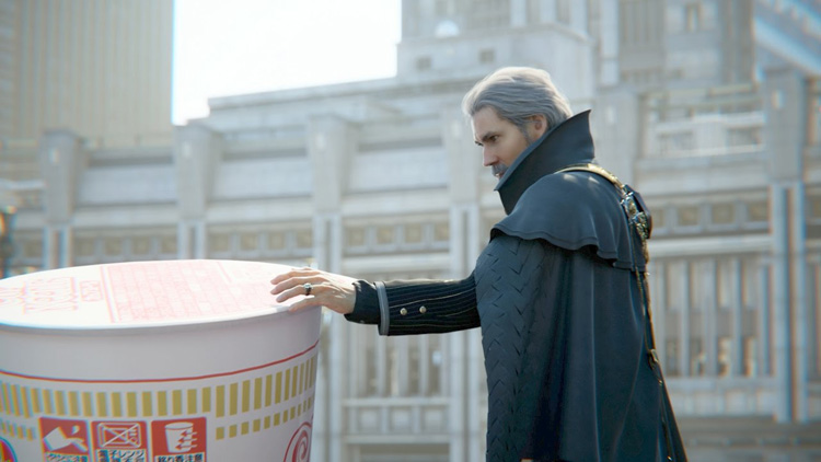 Final Fantasy XV and Cup Noodle Team up for Bizarre Commercial