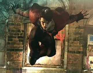 DmC: Devil May Cry Gameplay Clip Slashes, Shoots