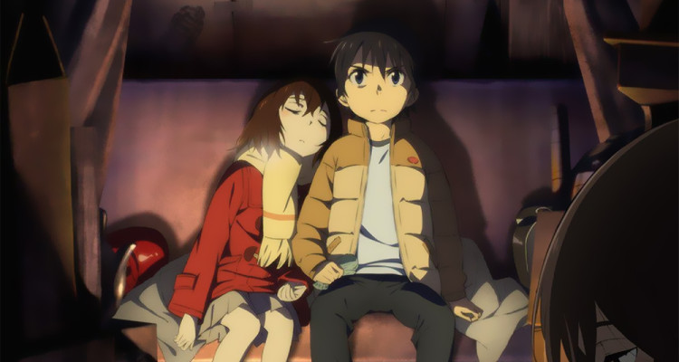 ERASED Anime Trailer Showcases English Dub