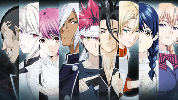 New Food Wars! Trailers Tease Second Season, OVA