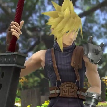 Super Smash Bros. Adds Cloud from Final Fantasy VII