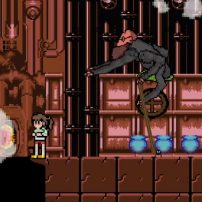Miyazaki's Spirited Away Imagined as Retro Game