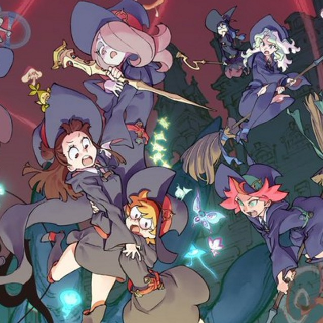 Little Witch Academia Shorts Now on Netflix
