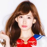 AKB48 Member Models Sailor Moon Lingerie