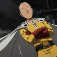 One-Punch Man Anime Ads Blast Off