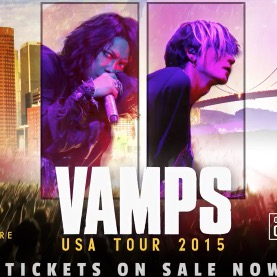 Hyde Formally Announces VAMPS USA Tour