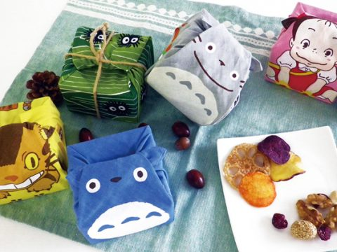 Wrap Your Lunch in These Adorable Totoro Handkerchiefs