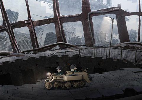 Dystopian Fantasy Manga Girls' Last Tour Gets Anime by White Fox