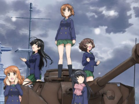 First of Six New Girls und Panzer Films Debuts December 9