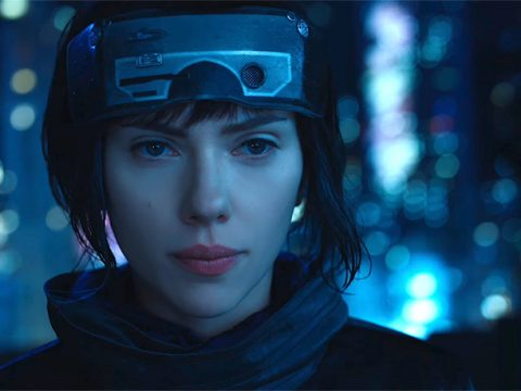 Ghost in the Shell Movie Gets in a Few Final Previews