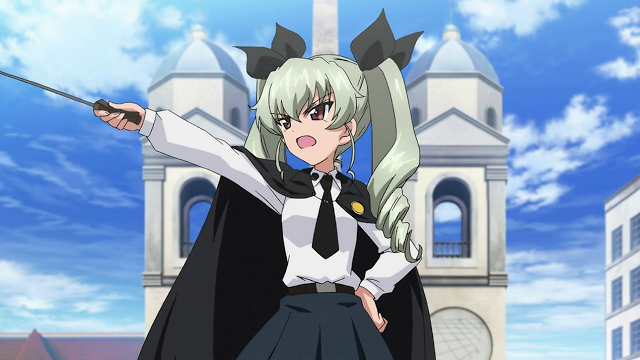Girls und Panzer OVA Gears Up for the Real Fight on Home Video