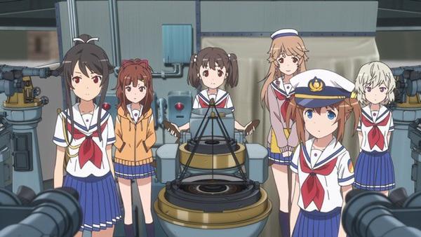 High School Fleet OVA To Focus on Characters, Not Battles