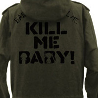 "Tell Everyone to ""Kill Me, Baby!"" With This Otaku Military Parka"