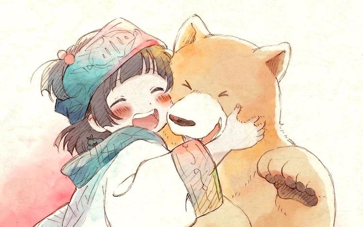 Kuma Miko Manga Lives a Peaceful Life with Bears