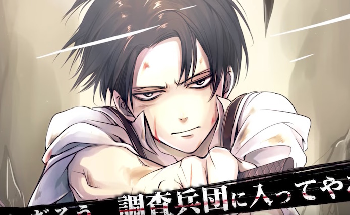Levi Voice Actor Hypes Full-Color Attack on Titan: No Regrets Manga