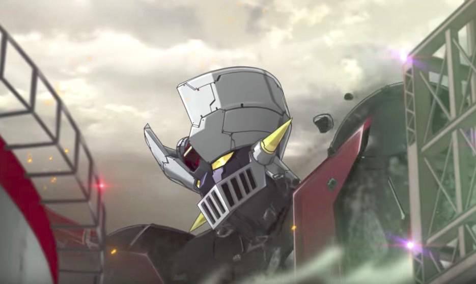 New Mazinger Z Anime Film Teased