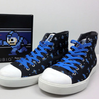 Become the Blue Bomber With These Megaman Sneakers