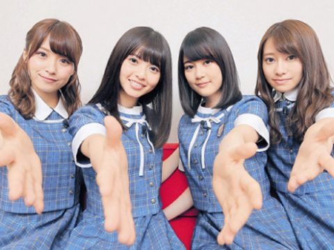 "AKB48 Spinoff Group Offer ""Air Handshakes"""