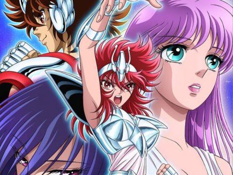 Visual Previews Saint Seiya: Saintia Shō Anime