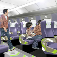 Peek Inside the Evangelion Bullet Train