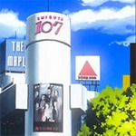 Shibuya's Anime Connections