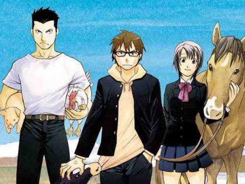 Silver Spoon Manga Returns from Hiatus This Month