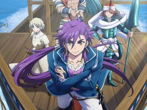 Magi Spinoff Anime Premieres April 15