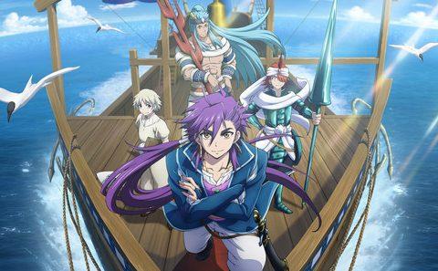 New Magi: Adventure of Sinbad Anime Promo Debuts