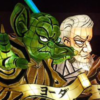 Controversial Star Wars Floats Appear at Northern Japan Festival