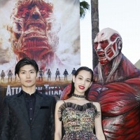 Live-action Attack on Titan Premieres in LA
