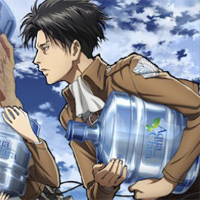 Attack on Titan Ties Up With… Water Coolers?