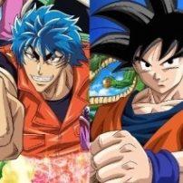 Luffy and Goku Team with Toriko for Anime Event