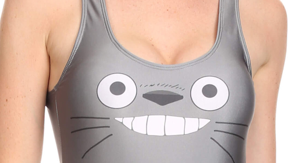 """""""Sexy"""" Onesie Explores a New Side of Totoro"""