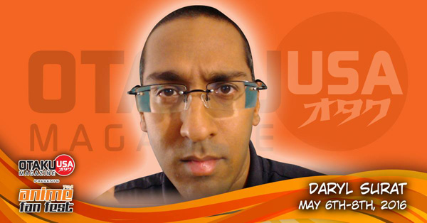 Daryl Surat Is Coming to Anime Fan Fest 2016